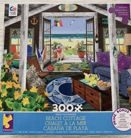 CEACO 300 pc TF Beach Cottage Puzzle