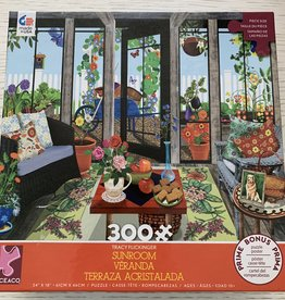 CEACO 300 pc Tracy Flickinger Sunroom Veranda Puzzle