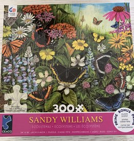 CEACO 300 pc Sandy Williams  Butterflies Puzzle