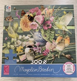 CEACO 300 pc MB Summer Bouquet Puzzle