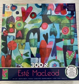 CEACO 300 pc Este MacLeod Hearts Puzzle
