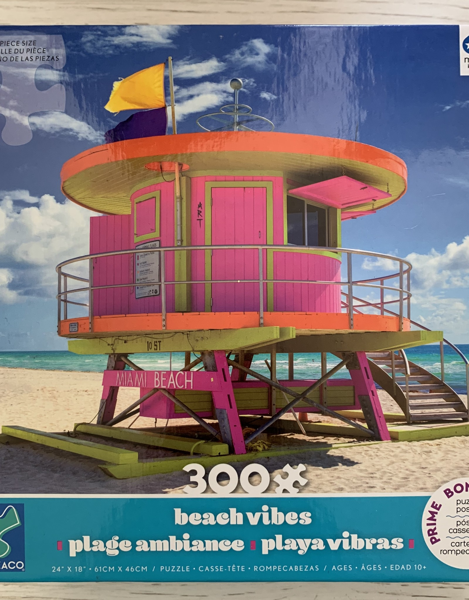 CEACO 300 pc Lifeguard Tower Puzzle