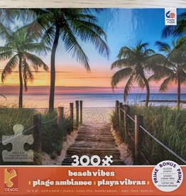 CEACO 300 pc Beach Sunset Puzzle