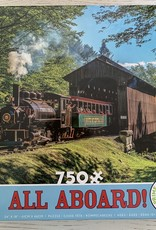 CEACO 750 pc White Mt Train Puzzle