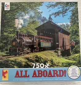 CEACO 750 pc White Mt Train Puzzle
