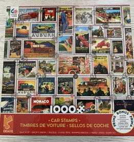 CEACO 1000 pc Car Stamps Puzzle