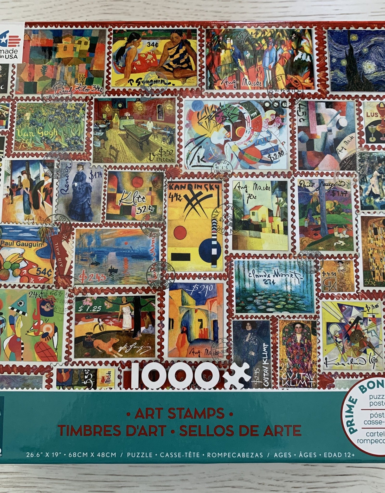 CEACO 1000 pc Art Stamps Puzzle
