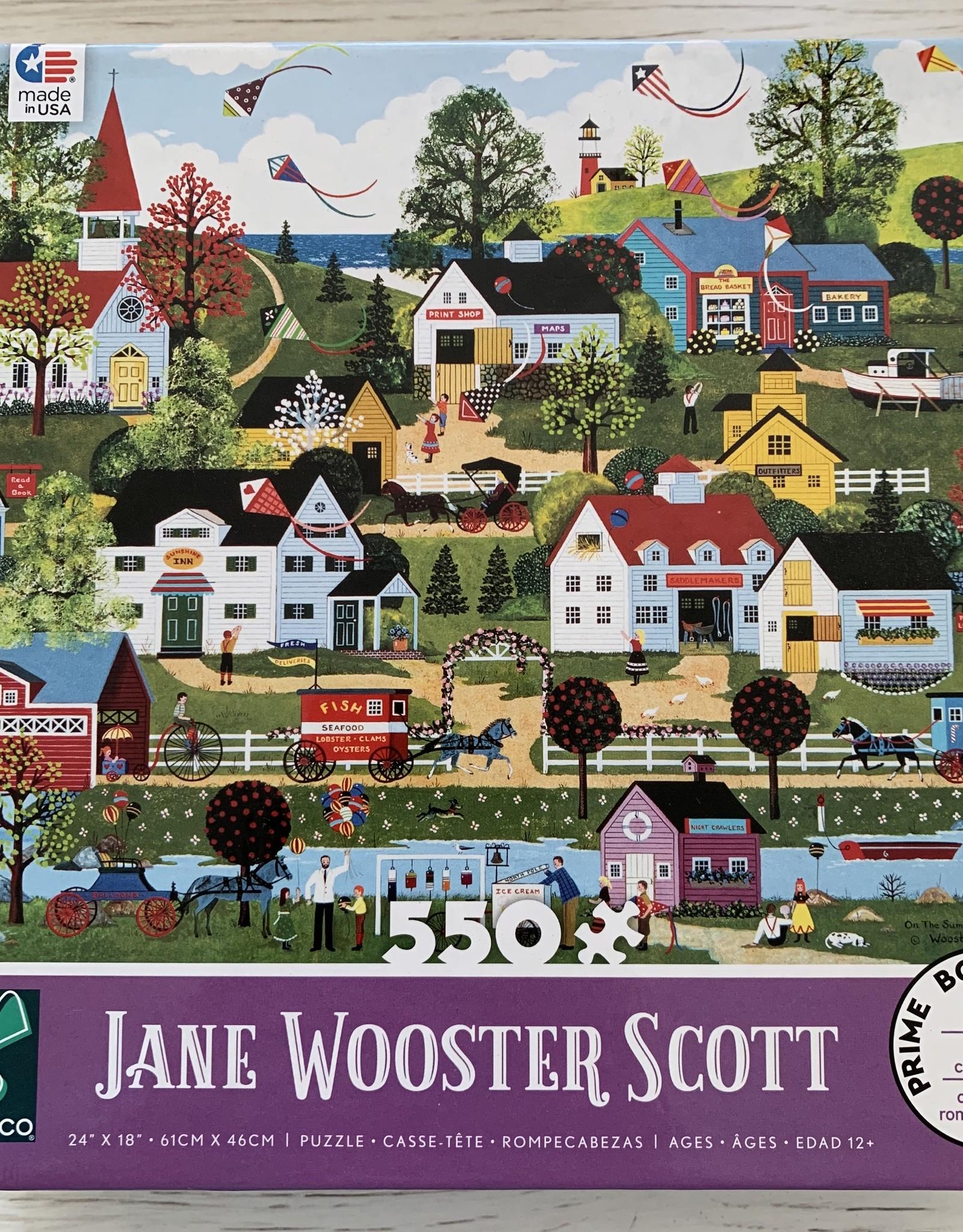 CEACO 550 pc Jane Wooster Scott  Summer Village Puzzle