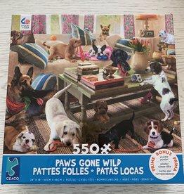 CEACO 550 pc Puppies Gone Wild Puzzle