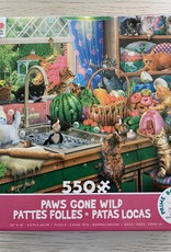 CEACO 550 pc Cats Paws Gone Wild Puzzle