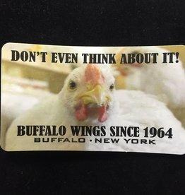 TERRANOVA  ACTIVEWEAR Buffalo, NY Chicken Magnet