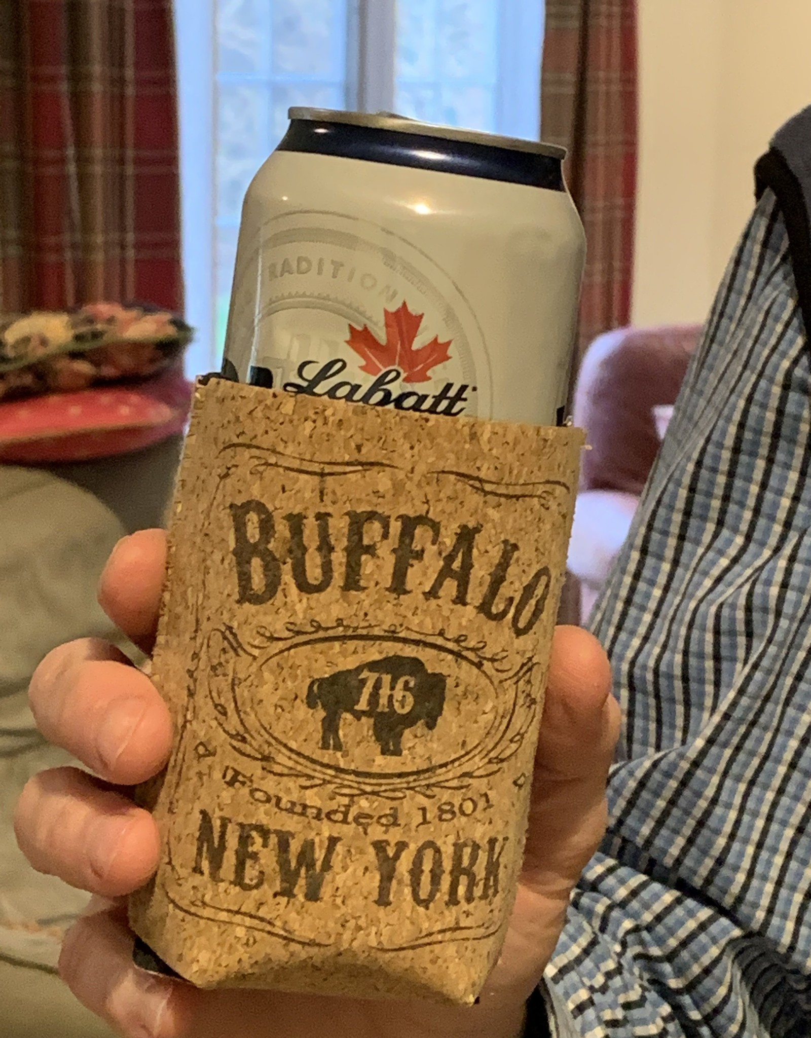 DELUXE LASERWORKS, INC. Buffalo NY Cork Can Cooler