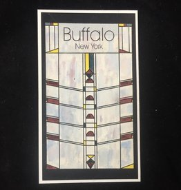Buffalo Stained Glass Window Magnet