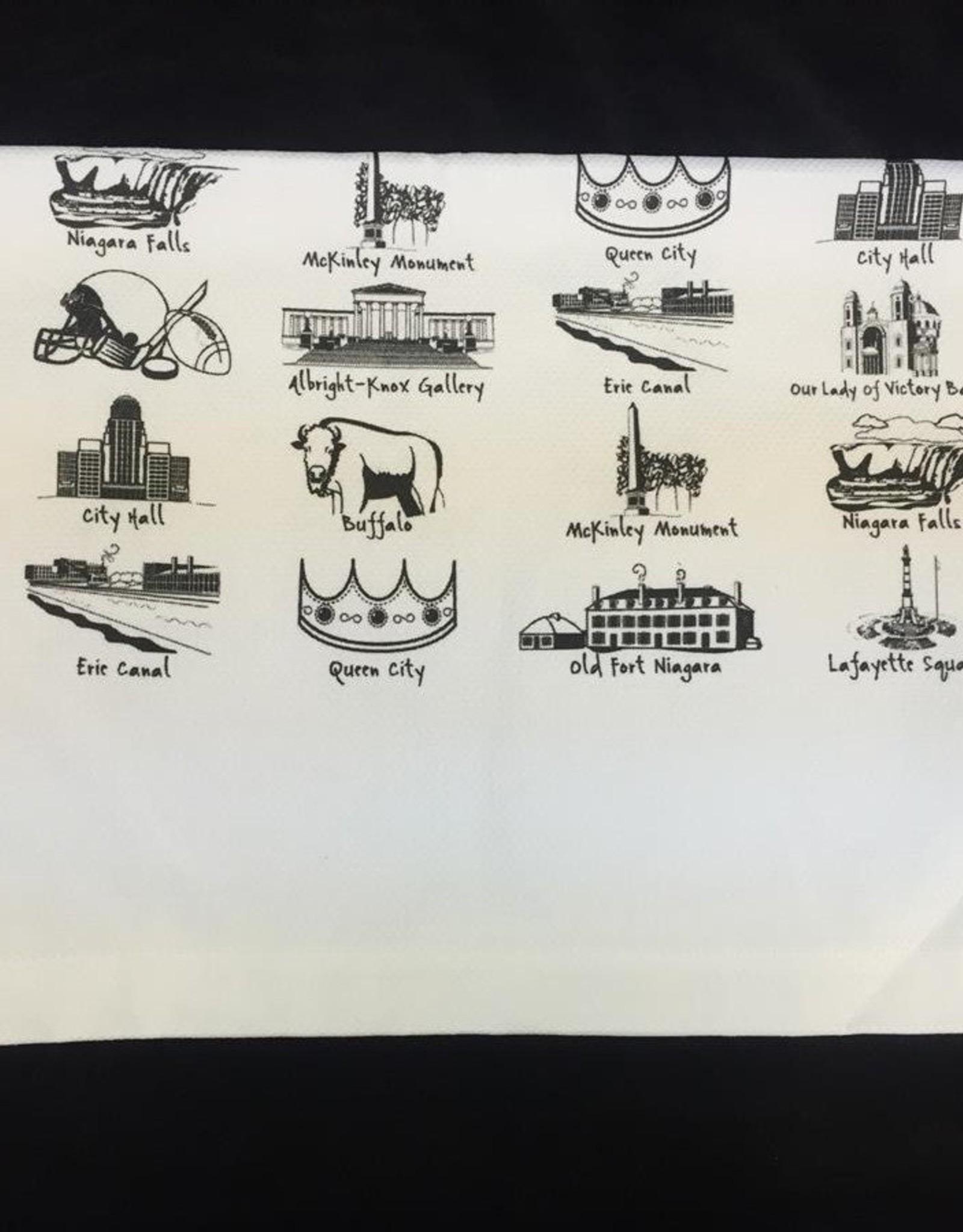 MIDPOINT LTD/THE DISH Buffalo Images Tea Towel
