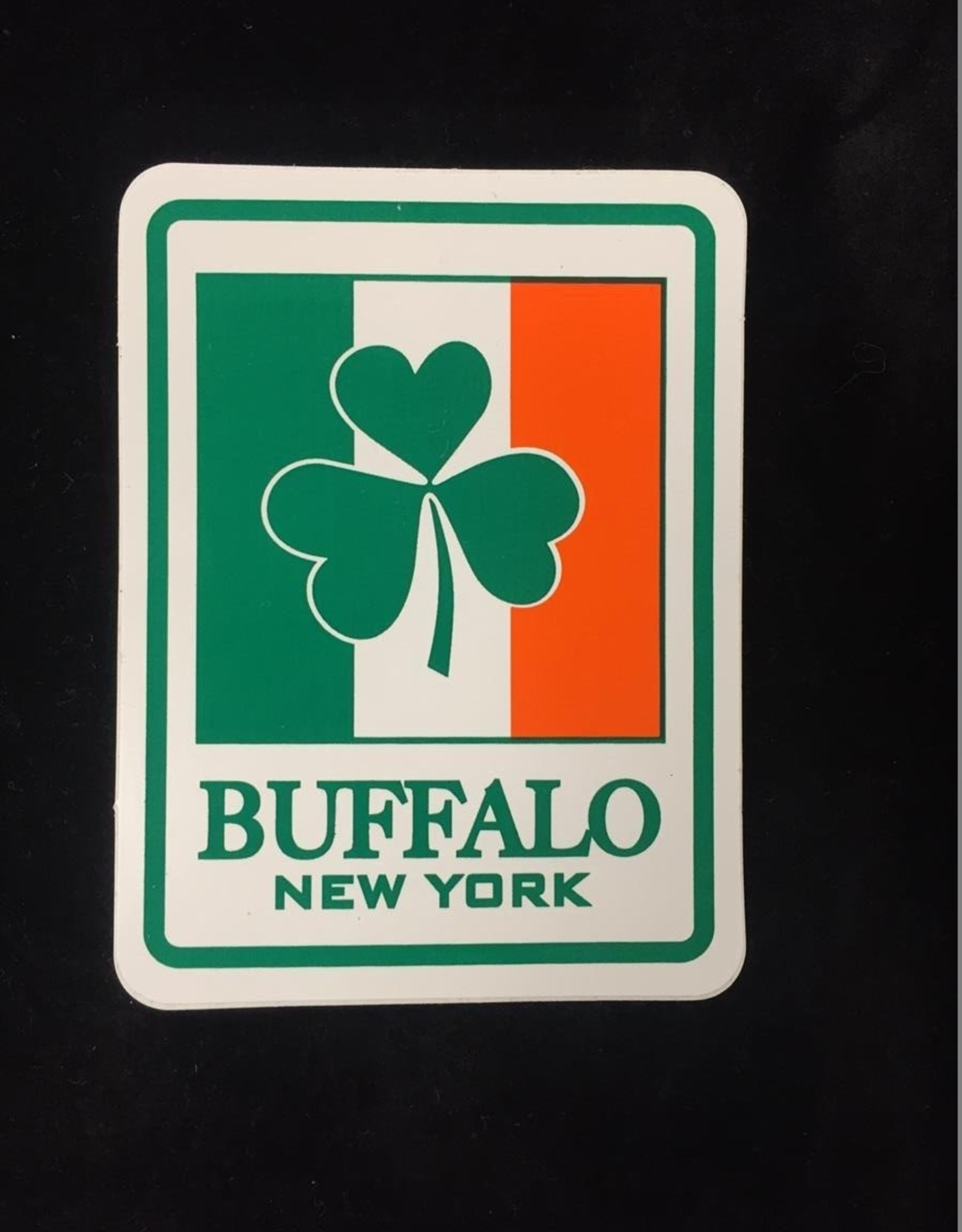 Buffalo Collection Irish Buffalo Bumper Sticker