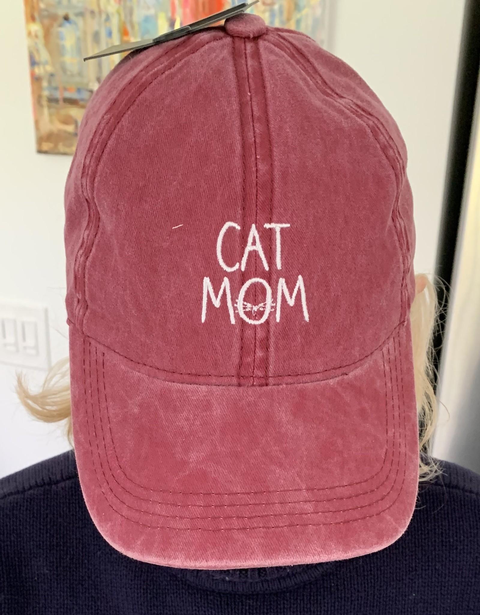 DAVID & YOUNG Cat Mom Baseball Cap