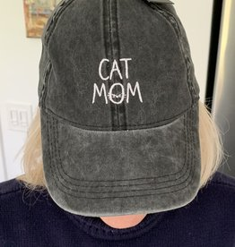DAVID & YOUNG Cat Mom Baseball Cap