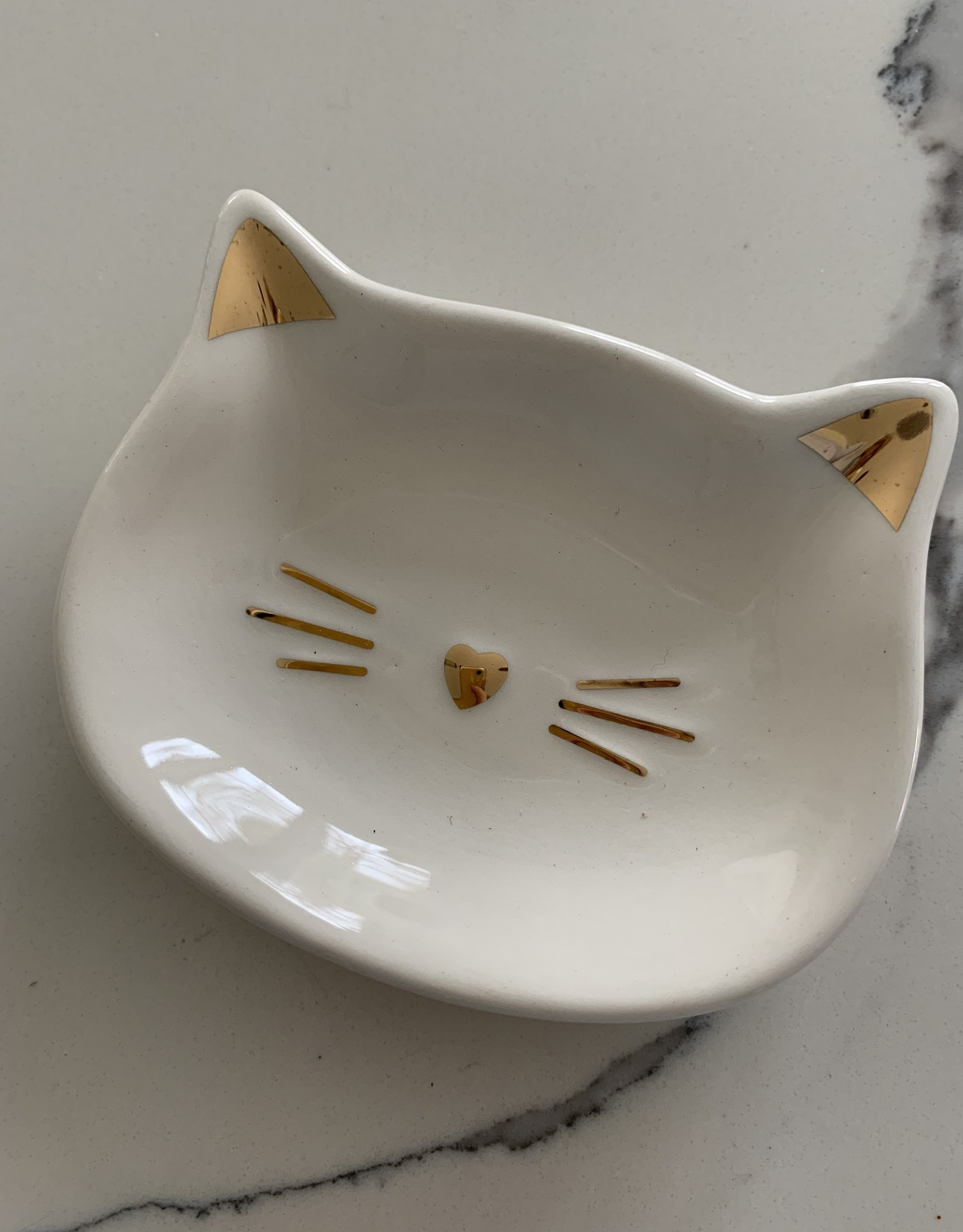 GIFTCRAFT INC. Cat Trinket Dish