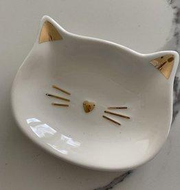GIFTCRAFT INC. Cat Trinket Dish