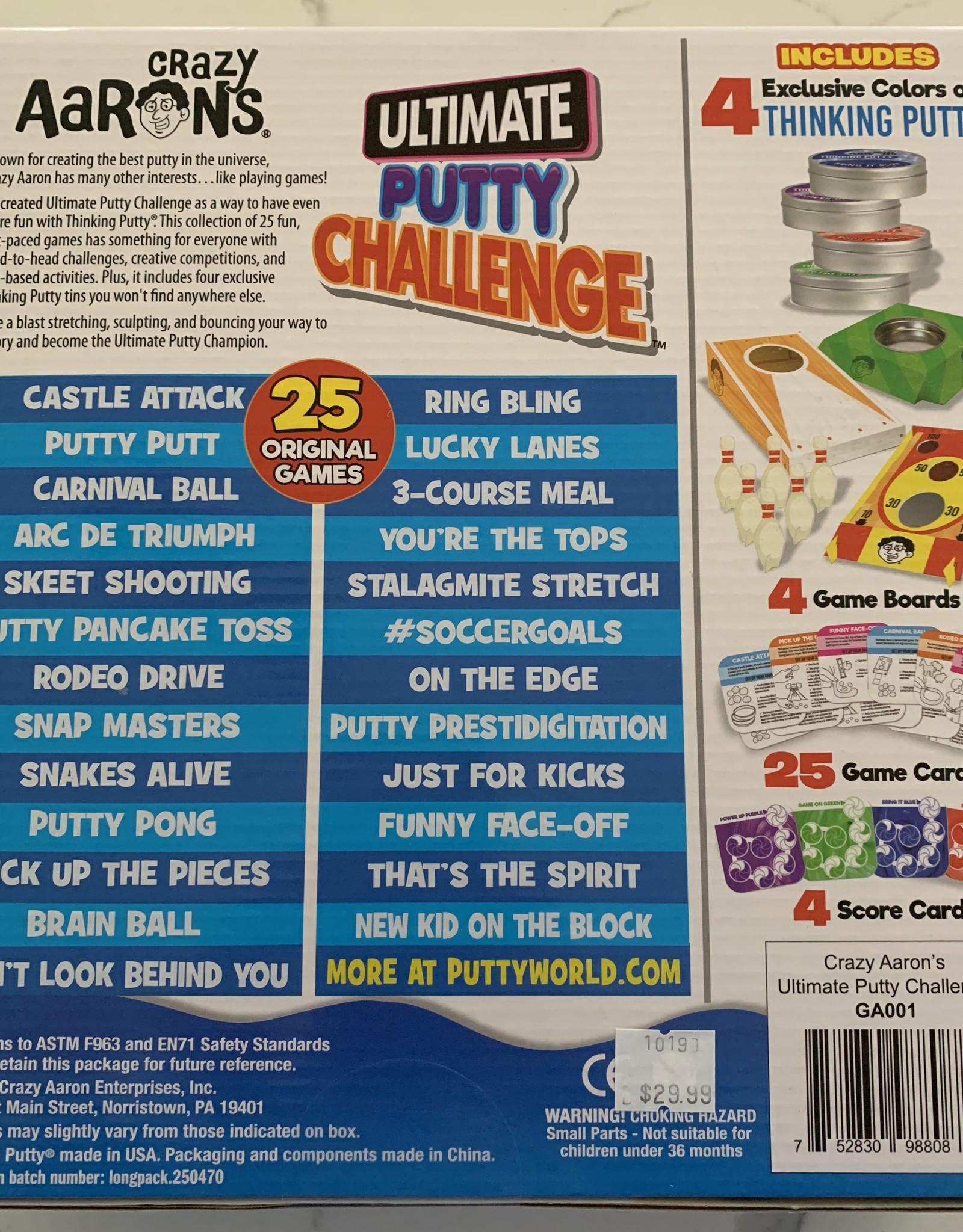CRAZY AARON ENTERPRISES Crazy Aaron's Ultimate Putty Challenge Game