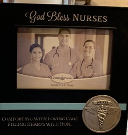 CATHEDRAL ART God Bless Nurses Frame
