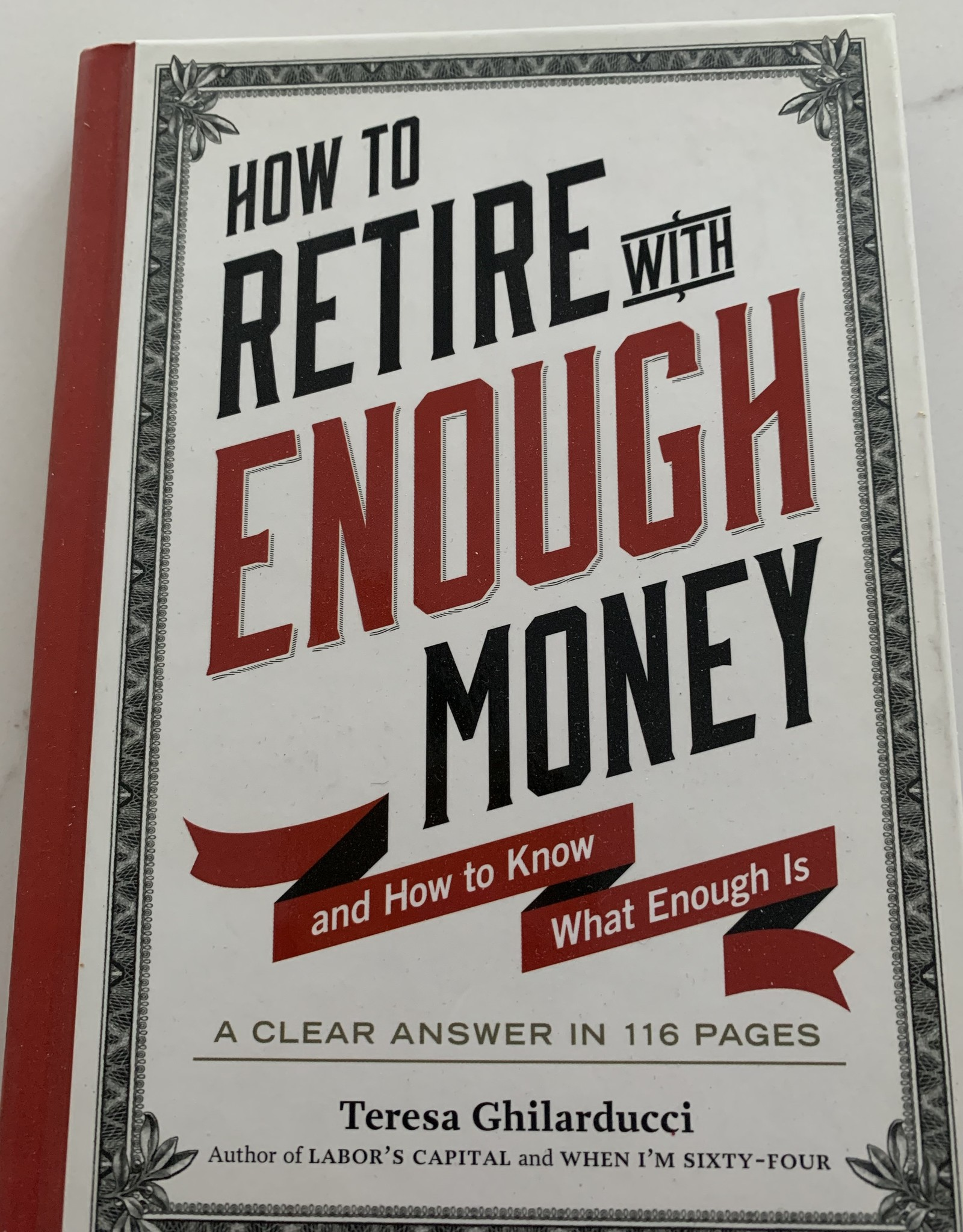 WORKMAN PUBLISHING How to Retire with Enough Money Book