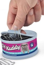 FRED & FRIENDS Kitty Kaddy Paper Clips in a Can