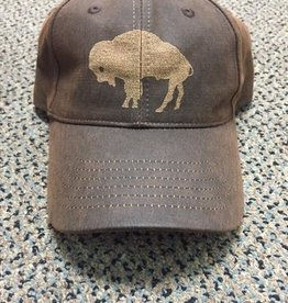 Buffalo Collection Buffalo Baseball Cap Dark Laser Brown