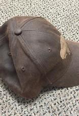 Buffalo Collection Buffalo Baseball Cap Dark Laser Brown