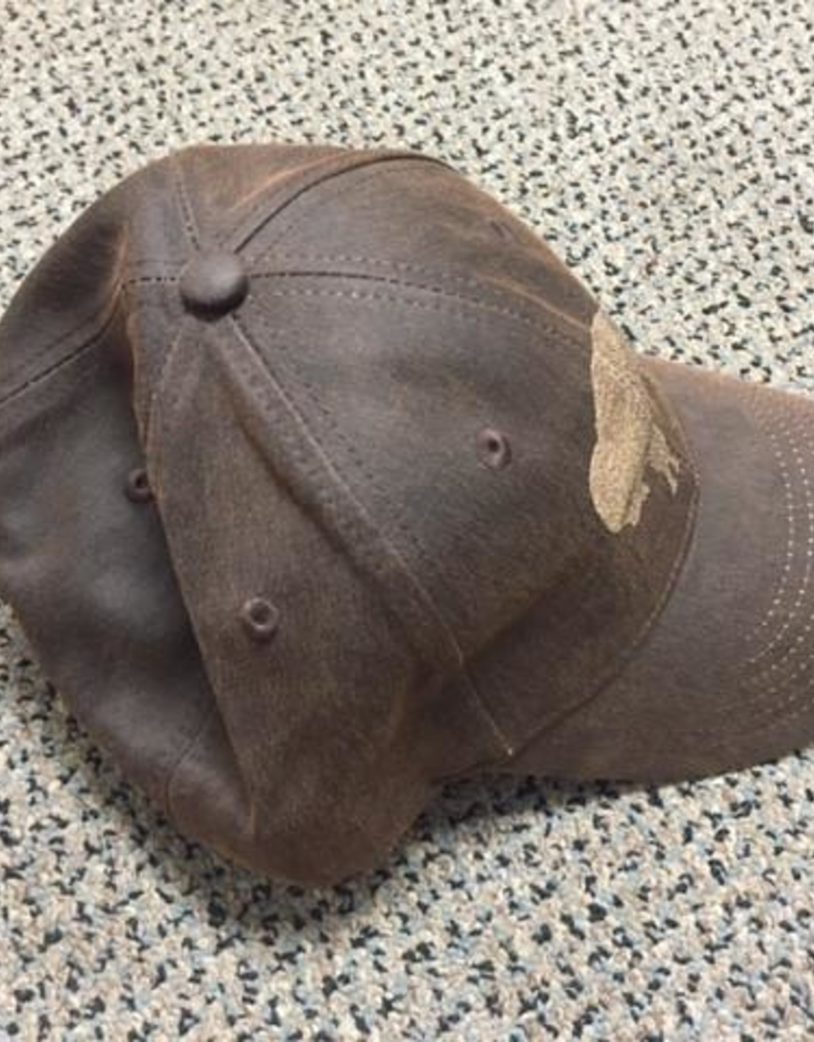Buffalo Collection Laser Etched Buffalo Baseball Cap - Brown