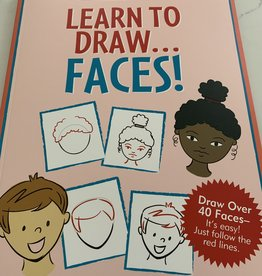 PETER PAUPER PRESS Learn To Draw Faces Book