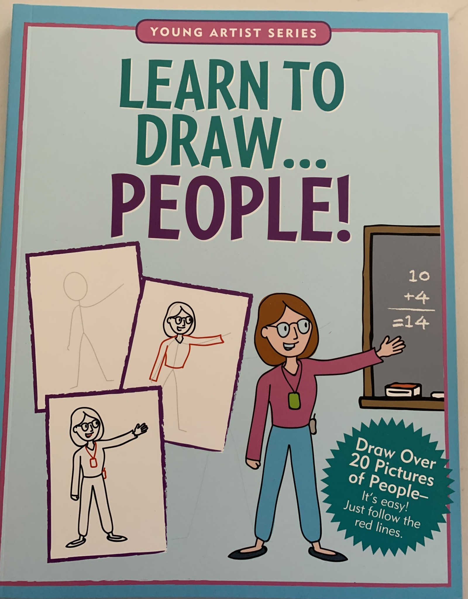 PETER PAUPER PRESS Learn To Draw People Book