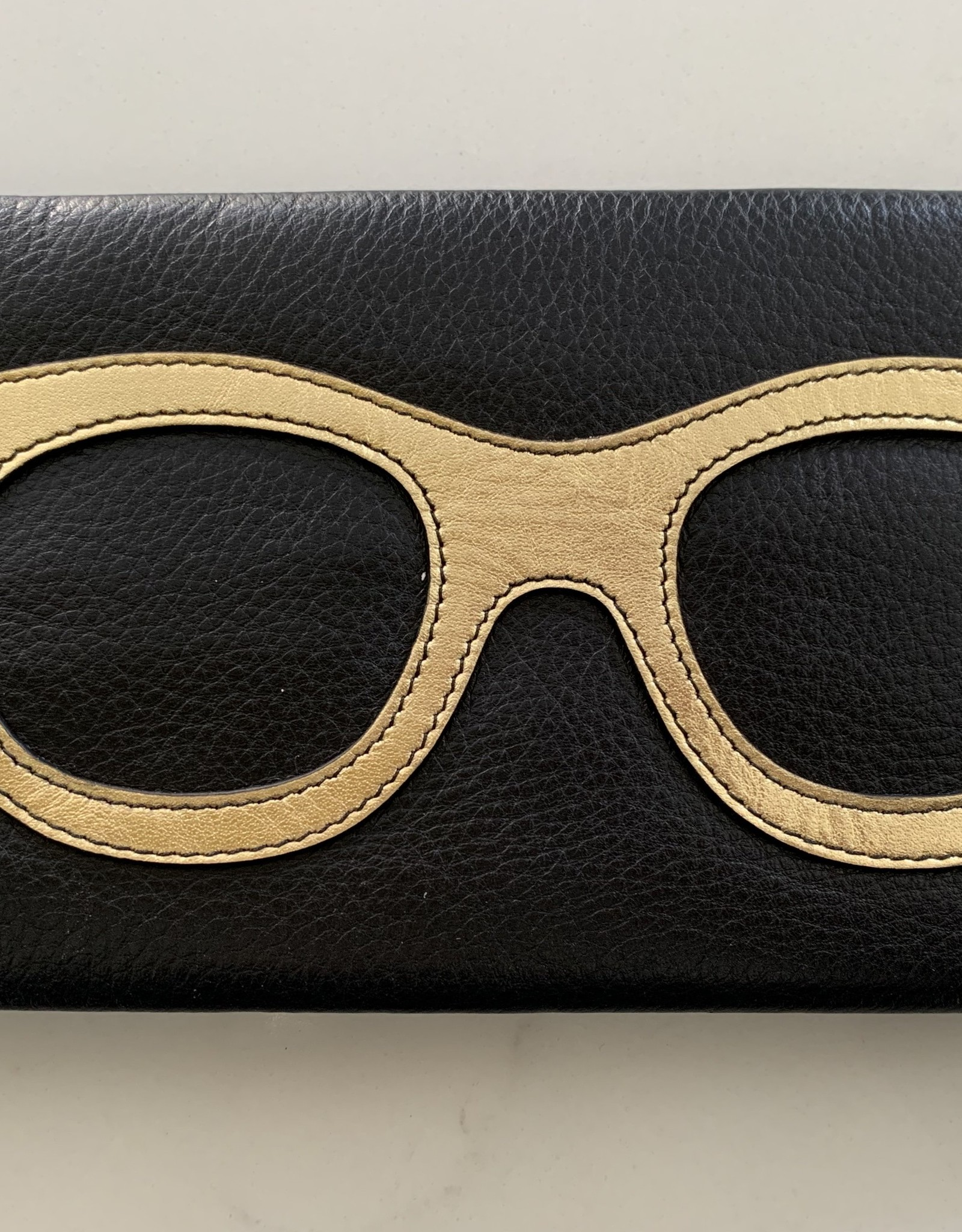 INTERCONTINENTAL LEATHER IND Leather Eyeglass Case