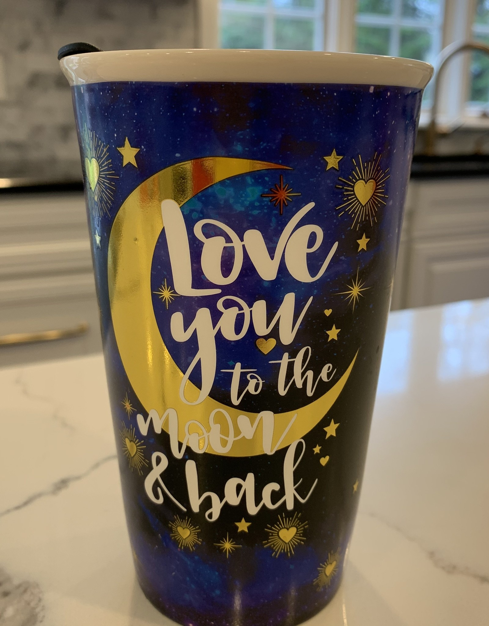 SPOONTIQUES, INC. Travel Mug - Love You To The Moon and Back