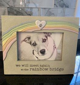 AMSCAN We Will Meet Again at the Rainbow Bridge Frame