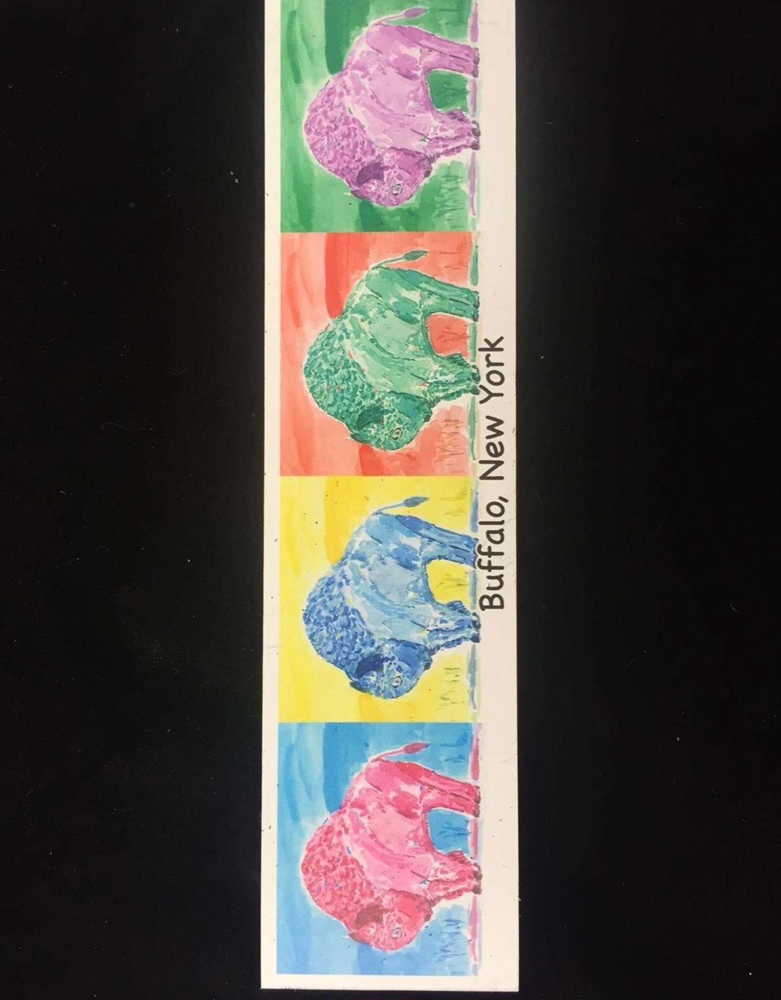BOB GREGG Multicolored Buffalo Magnet