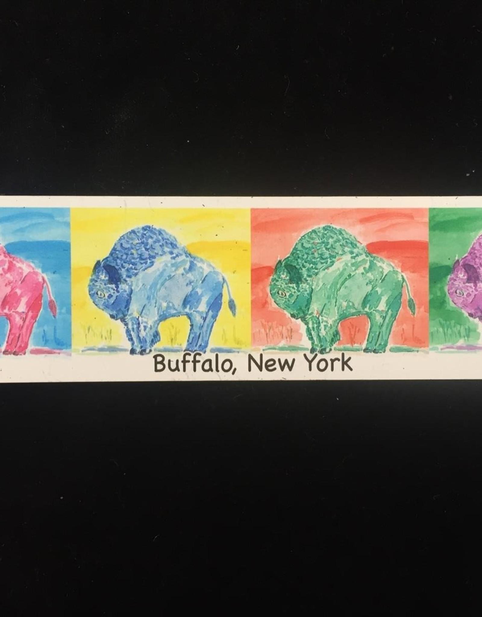 Multicolored Buffalo Magnet