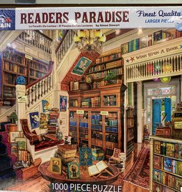 WHITE MOUNTAIN PUZZLES, INC. 1000 pc Reader's Paradise Puzzle