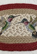 CAPITOL IMPORTING CO Hummingbird Oval Woven Trivet