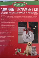 DENNIS EAST INTERNATIONAL Paw Print Ornament Kit