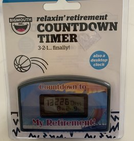 BIG MOUTH TOYS Relaxin Retirement Countdown Timer