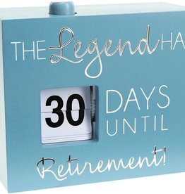 PAVILION Retirement Countdown Timer