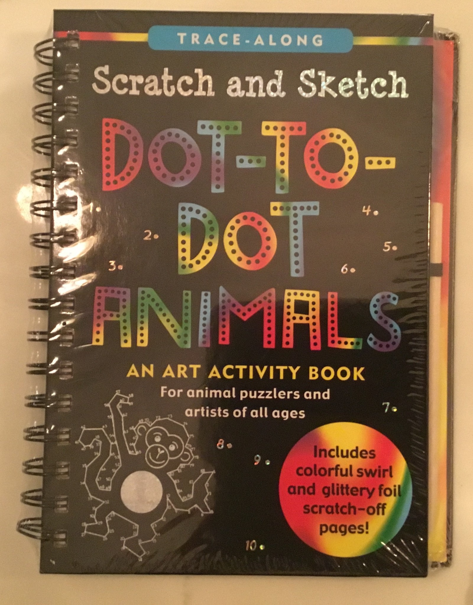 PETER PAUPER PRESS Scratch and Sketch: Dot to Dot Activity Book