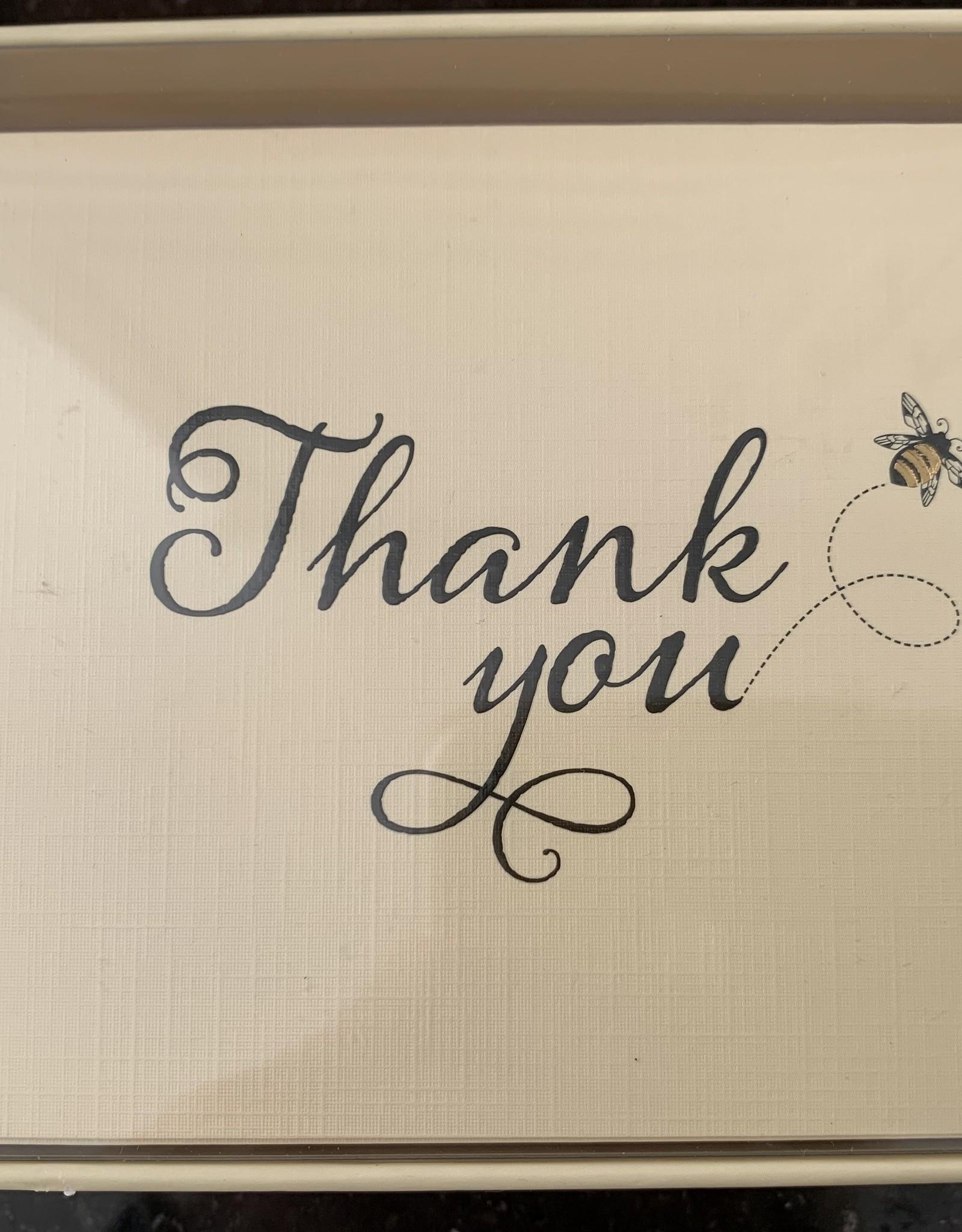 PETER PAUPER PRESS Thank You Notecards - Bumblebee