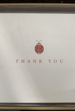 PETER PAUPER PRESS Thank You Notecards - Ladybug