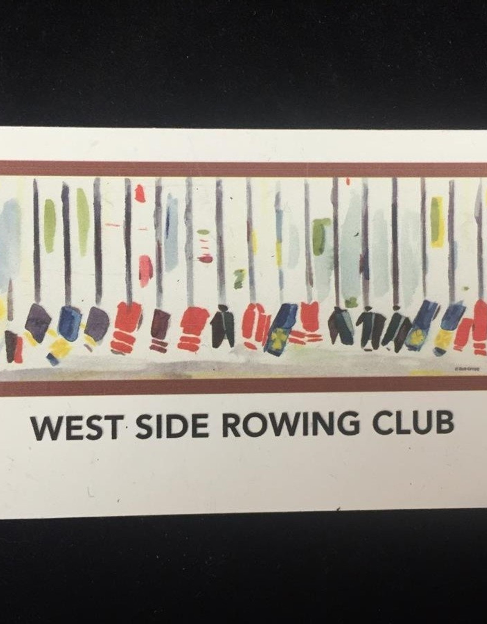 West Side Rowing Club Magnet