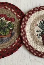 """CAPITOL IMPORTING CO Rosemary 10"""" Woven Trivet"""