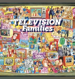 WHITE MOUNTAIN PUZZLES, INC. 1000 pc TV Families Puzzle