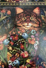 WHITE MOUNTAIN PUZZLES, INC. 1000 pc Tapestry Cat Puzzle