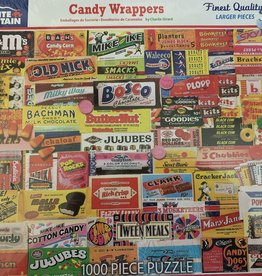 WHITE MOUNTAIN PUZZLES, INC. 1000 pc Candy Wrappers Puzzle